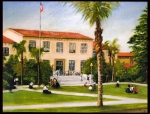 Artist painting of SBHS campus